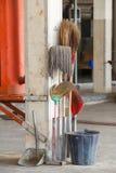 Equipamentos da limpeza Imagem de Stock Royalty Free