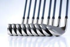 Equipamentos de golfe Fotografia de Stock