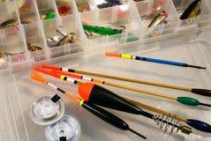 Equipamentos de pesca Fotos de Stock