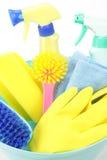 Equipamentos de tarefas domésticas Foto de Stock Royalty Free