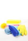 Equipamentos de tarefas domésticas Foto de Stock