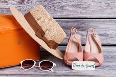 Equipamentos do roupa de banho para mulheres foto de stock royalty free