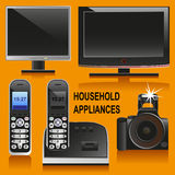 Equipamentos eletrônicos Fotografia de Stock