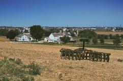 Equipamiento agrícola de Amish foto de archivo