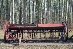 Equipamiento agrícola del vintage Fotografía de archivo libre de regalías