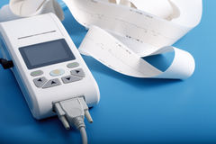 Equipamiento médico para la medida de ECG Fotos de archivo libres de regalías