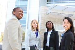 Equipe étnica diversa do negócio imagens de stock royalty free