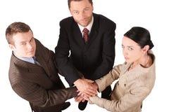 Equipe 4 do negócio - isolada Foto de Stock Royalty Free
