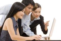 Equipe 8 do negócio Imagens de Stock