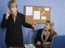Equipe adolescente do negócio Fotografia de Stock