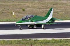 Equipe Aerobatic da exposição da força aérea do saudita Imagem de Stock Royalty Free