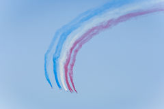 Equipe aerobatic da força aérea francesa Fotografia de Stock