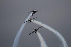 A equipe aerobatic do indicador das lâminas Imagem de Stock Royalty Free