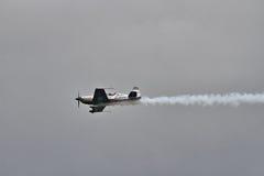 A equipe aerobatic do indicador das lâminas Fotografia de Stock