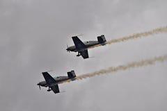 A equipe aerobatic do indicador das lâminas Foto de Stock Royalty Free
