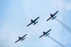 Equipe Aerobatic Krisakti de Malaysia Imagens de Stock Royalty Free