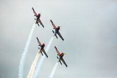 Equipe Aerobatic Krisakti de Malaysia Foto de Stock