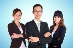 Equipe asiática do negócio Imagem de Stock Royalty Free