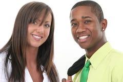 Equipe atrativa do negócio do homem e da mulher Fotografia de Stock Royalty Free