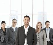 Equipe bem sucedida do negócio Fotos de Stock
