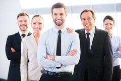 Equipe bem sucedida do negócio Fotografia de Stock Royalty Free