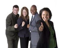 Equipe bem sucedida do negócio Fotos de Stock Royalty Free