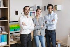 Equipe bem sucedida do negócio no escritório Fotografia de Stock