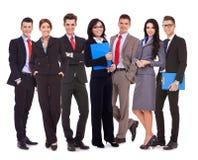 Equipe bem sucedida feliz do negócio Foto de Stock