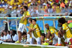 Equipe Bresil  Coupe du Monde 2014 Stock Images