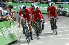 Equipe Cofidis Solutions Crédits Tour de France 2015 Royalty Free Stock Photo