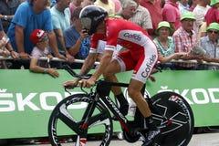 Equipe Cofidis Solutions Crédits Tour de France 2015 Royalty Free Stock Photos
