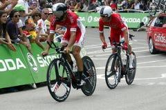 Equipe Cofidis Solutions Crédits Tour de France 2015 Royalty Free Stock Images