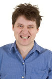 Equipe com o retrato descoberto dos dentes Imagens de Stock Royalty Free