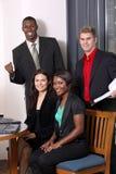 Equipe com um membro Fotos de Stock Royalty Free