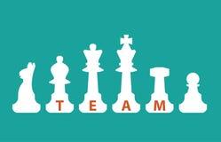 Equipe, conceito de uma comunicação Foto de Stock Royalty Free