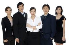 Equipe confiável do negócio fotografia de stock