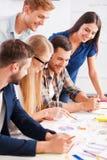 Equipe criativa no trabalho Imagem de Stock Royalty Free
