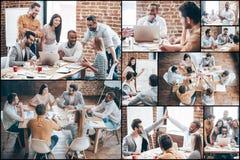 Equipe criativa no trabalho Fotografia de Stock Royalty Free