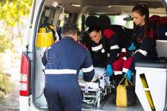 Equipe da ambulância imagem de stock royalty free