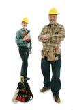 Equipe da construção Fotos de Stock Royalty Free