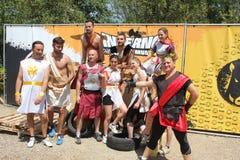 Equipe da corrida 2015 do inferno fotos de stock
