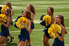 Equipe da dança de Michigan Imagens de Stock