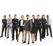 Equipe da empresa Fotografia de Stock Royalty Free
