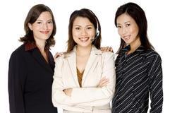 Equipe da empresa de pequeno porte imagem de stock