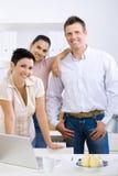 Equipe da empresa de pequeno porte Foto de Stock