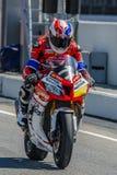 Equipe da escola técnica 2 de Monlau Repsol 24 horas do motociclismo de Catalunya Imagens de Stock Royalty Free