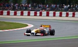 Equipe da fórmula 1: Renault Fotografia de Stock Royalty Free