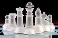 Equipe da xadrez Foto de Stock Royalty Free