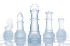 Equipe das partes de xadrez fotos de stock royalty free
