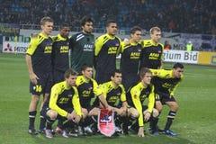Equipe de AZ Alkmaar fotos de stock